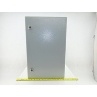 "Rittal AE 1038 23-1/2x15""x7-1/2"" Electrical Enclosure Wall Mount W/Back Plate"