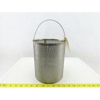 ST269SHCX 60 Mesh Strainer Basket 316 Stainless Steel 4-Inch