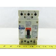 Allen Bradley 140U-H3 600V 20A 3 Pole Molded Case Circuit Breaker