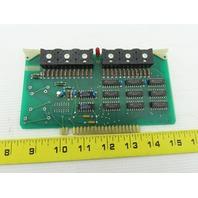 Futronix 2002 ECS Output Card Circuit Board PCB