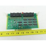 Futronix 2363 ECS Output Card Circuit Board PCB