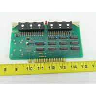 Futronix 2025 ECS Output Card Circuit Board PCB