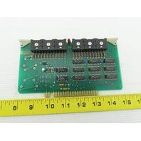 Futronix 1993 ECS Output Card Circuit Board PCB