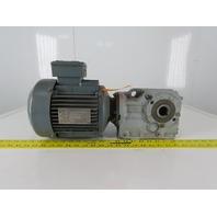 SEW-EURODRIVE KA37 DT90L4/TF 1.5Kw Gear Motor 277/480V 3Ph 57RPM