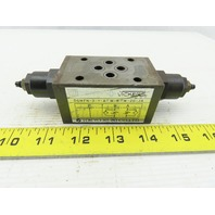 Vickers Sperry DGMFN-3-Y-A2W-B2W-20-JA Systemstak Relief Valve Metered In/Out