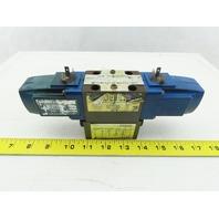 Vickers DG4V-3-6C-U-T-10-JA-S310 Hydraulic Directional Valve 110V Coil W/ Check