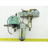 SMC 120-480V Pressure Switch Lubricator Secondary Valve Assembly
