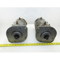 Clark 2819155 36VDC Drive Motor From a TMG15 Forklift Lot of 2