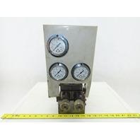 Vickers DG4V-3-2C-U-T-10-JA-S310 Pressure Regulated Solenoid Operated Valve Unit