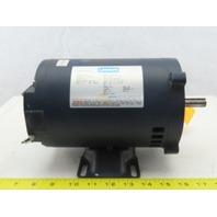Leeson PR060221 3/4Hp Electric Motor S56C Frame 208-230/460V 3Ph 1725RPM