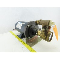 Procon 10153 Pump W/Leeson 99PSI 3/4Hp Electric Motor 208-230/460V 3Ph 1725RPM
