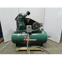 Champion HRA15-12 15Hp 120Gal Reciprocating Air Compressor 230V 3Ph 175PSI 53CFM