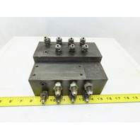 16 Port Steel Hydraulic Manifold