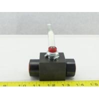 "DMIC BVH0500N1111 1/2"" NPT  Hydraulic Ball VALVE 6000 PSI MAX 23-094"
