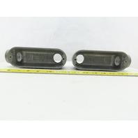 "Hubbell Killark OLB-4 Aluminum 1-1/4"" Type LB Conduit Body Lot of 2"