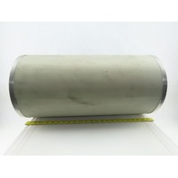 """Noisemaster Sound-Absorbing Cylinder 93% Sound Absorbed 12"""" Diameter x 2' Long"""