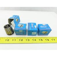Techniks 1118 ER32 High Precision Spring Collet Size 20 Lot Of 4