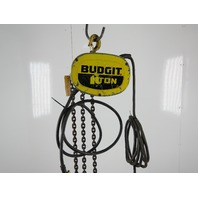 Budgit K356-2R 115845-7 1 Ton Electric Chain Hoist 230/460V 3PH 16FPM 10' Lift