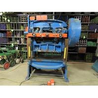 """Minster 60-3-42 32 Ton Double Crank OBI Flywheel Press 2-1/2"""" Stroke 460V 3Ph"""
