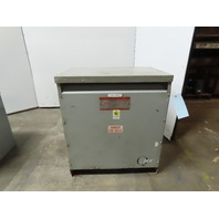 General Electric 9T23B4006 Type QL 460V Pri 460/266V Sec. 63kVa Dry Transformer