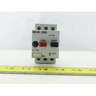Automation Direct MS25-2500 600V 20Hp 3Ph 20-25A Trip Manual Motor Starter