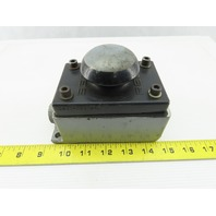 """Rees 02911-001 2-1/4"""" Mushroom Plunger Switch Palm Button 600V 15A In SWB-1 Box"""