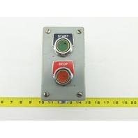 600V Operator Remote Push Start Stop Button Assembly