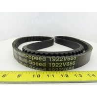 Gates 1922V666 Multi Speed Belt