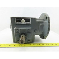 Dodge Q175B040M056K1 40:1 Ratio 1/2Hp Left Hand 43.75RPM Output Gear Reducer