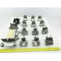 "Magnetek F-CC-3 3"" Standard Duty C- Track Flat Cable Festoon Trolley Lot Of 14"