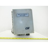 Emerson V745 AMS 6500 6 Channel Machinery Vibration Sensor Health Monitor