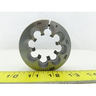 "1-3/4 - 5 UNC Thread 3"" Outside Diam High Speed Steel Round Die