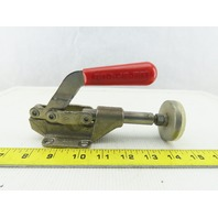 """Destaco 608 850 Lb Capacity Straight Line Action Clamp 2"""" Flat Tip"""