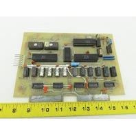 SBC8085 SEE-185 Picoprocessor Circuit Board