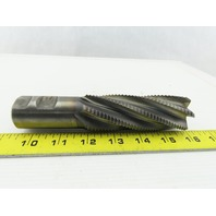 "1-1/2"" Dia, 10.200 Lead, Coarse Pitch, 4"" LOC, 6 Flute Roughing Square End Mill"
