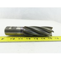 "1-1/2"" Dia, 10.224 Lead, Coarse Pitch, 4"" LOC, 6 Flute Roughing Square End Mill"
