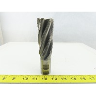 "1-1/2"" Dia, 9.774 Lead, Coarse , 3-1/2"" LOC, 6 Flute Roughing Square End Mil"