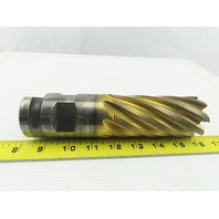"2"" Dia, Coarse , 4-1/8"" LOC, 8 Flute Roughing Square End Mill 7-3/4"" OAL"