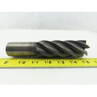 "1-1/2"" End Mill 6 Flute 6-1/2"" OAL 4"" LOC  1-1/4"" Shank  6.540 Lead USA"