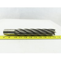 "1-1/2"" HS Dia 8.257 Lead  6 Flute Square End Mill 8"" LOC 10-1/2 OAL"