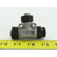 Brad Harrison 260509J 5 Pin Male Plug To Female Split Cable Adapter TEE