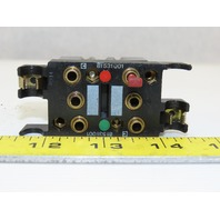 Crouzet 81531001 81523601 Pneumatic Logic Memory  W/ Manual Override Element