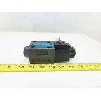 Kawasaki DE6P-20-225-WA100B-02 4/2 Position Solenoid Hydraulic Valve 100V Coil