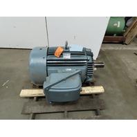 Teco Westinghouse EP1004R 100Hp 1175RPM 230/460V 3Ph 405T Inverter Duty Motor