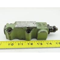 Kawasaki Rexroth DAC10-1-K31/160 Hydraulic Valve