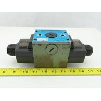 Kawasaki DE10P-10-210-WA100AL-B03 5/2 Way Solenoid Hydraulic Control Valve 100V