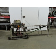 "Sampson MN150-12 Double 45° Miter Saw 12"" W/Feed Table 208-230/460V 3Ph"