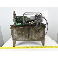 2Hp 13 Gallon Hydraulic Power Unit 230/460V 3Ph W/Vickers PVB6 RSY 21 CM11 Pump