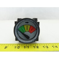 Differential Pressure DPP-975 Clean/Change/Dirty Gauge