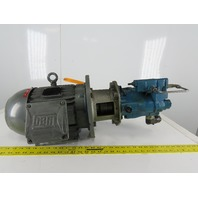 WEG 5Hp Hydraulic Pump Assembly 182/4TC Frame 230/460V 3Ph